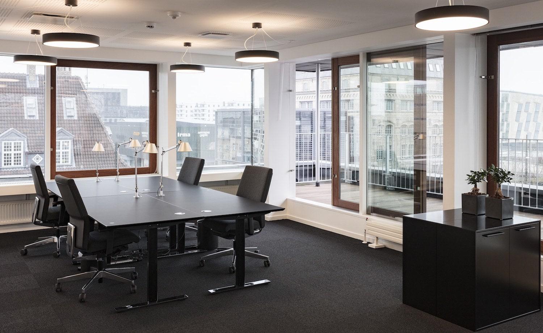 4-personers kontor med skøn udsigt